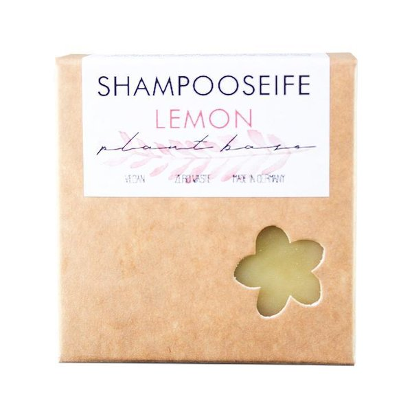Shampoo-Seife-Lemon